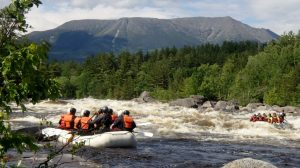 maine whitewater river rafting