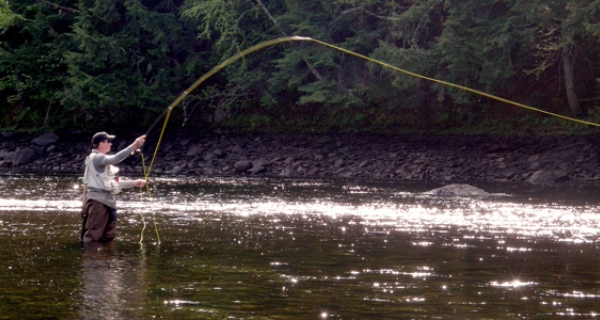 Maine river fly fishing